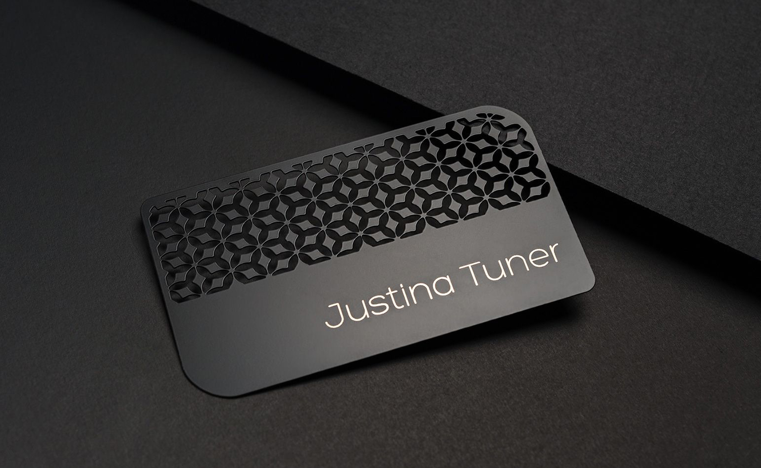 my metal business cards