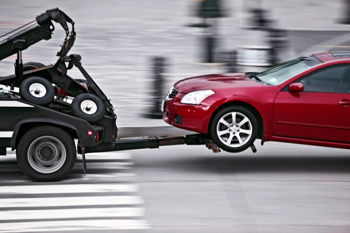 how to get my car towed for free