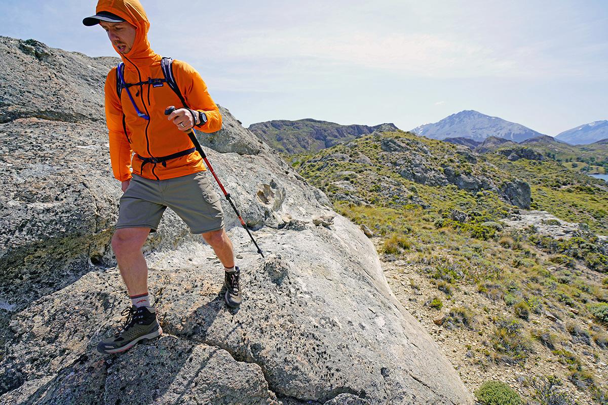 peak walk trekking pole