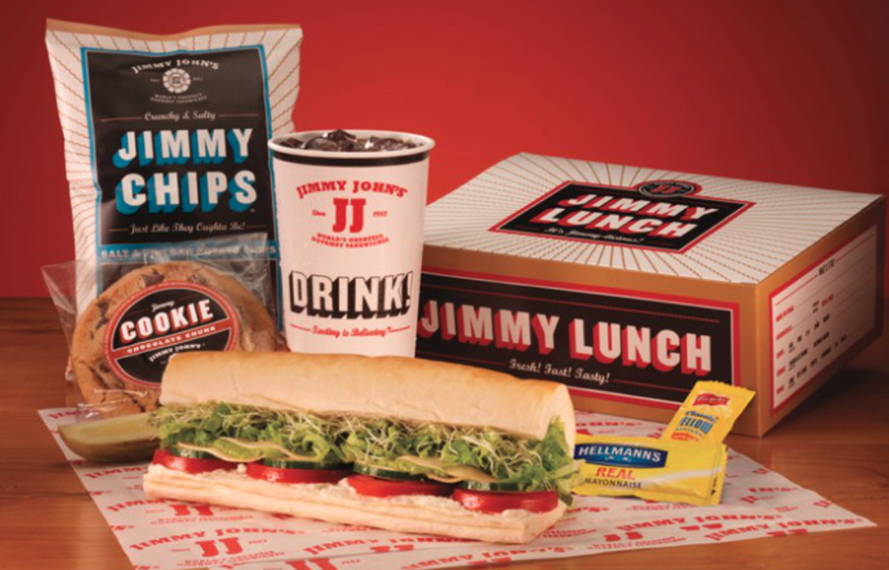 how much does jimmy johns delivery cost